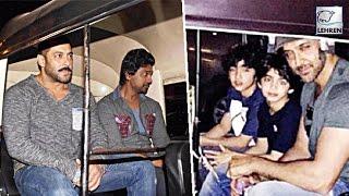 Salman Khan, Hrithik Roshan, John Abraham Enjoy Auto Ride