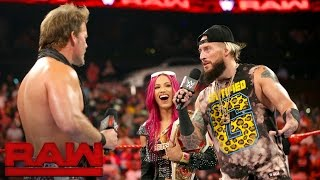 """Sasha Banks and Enzo Amore are confronted by a couple of """"haters"""": Raw, Aug. 1, 2016"""