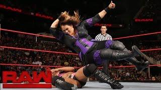 Nia Jax vs. a local competitor: Raw, Aug. 1, 2016