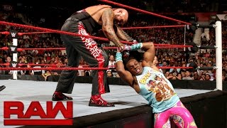 The New Day vs. Luke Gallows & Karl Anderson: Raw, Aug. 1, 2016