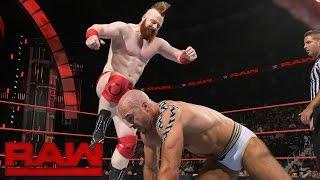 Cesaro vs. Sheamus: Raw, Aug. 1, 2016