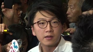 Hong Kong pro-independence leader says he is barred from polls