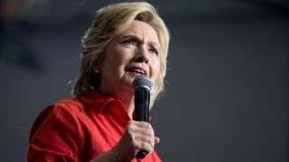 When will Clinton finally take questions from the press?