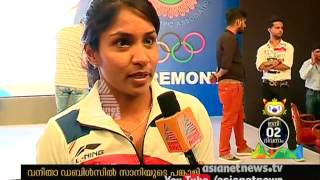 Sania Mirza and Prarthana Thombare Tennis Women Doubles - rio Olympics 2016