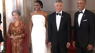 Obama Honors 50 years of US-Singapore Relations
