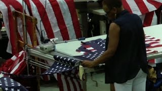 Flag Factory Workers Want Unity, not Division