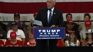 Pence: Obama Knows About 'Woefully Unprepared'