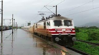 FIRST TRIAL RUN of HIGH SPEED SPANISH TALGO TRAIN on Delhi - Mumbai Route : INDIAN RAILWAYS