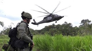 104 cocaine labs destroyed in the Colombian jungle