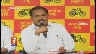 TDP Motkupalli Narasimhulu Demands CM KCR For Godavari Water To Aleru | Nalgonda | iNews
