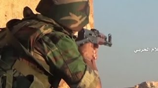 Raw: Fighting Intensifies Around Aleppo