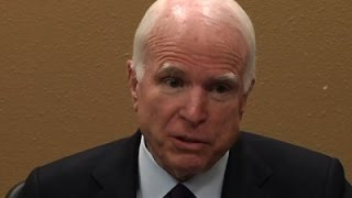 McCain: I Won't Critique Everything Trump Does