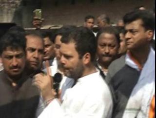 Congress ki sarkar hoti to 2 minutes me sabhi problem hoti dur-Rahul Gandhi