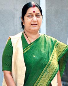 भारत और पाकिस्तान समग्र वार्ता के लिए राजी: सुषमा