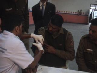 दिल्ली पुलिस के ज्यादातर जवान हाई ब्लड प्रेशर से ग्रसित (Delhi)