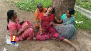 Farmer Tried To Commit Suicide For  Loan Repayment | Anantapur | iNews