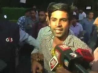 JNU छात्रसंघ अध्यक्ष कन्हैया कुमार पर हमले की कोशिश