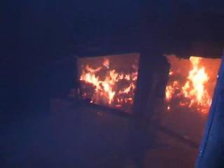 फैक्ट्री में लगी आग, लाखों का नुकसान