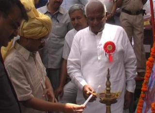 मुख़्यमंत्री अरविन्द केजरीवाल ने किया धर्मशाला का शिलान्यास