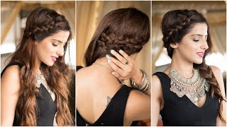 3 Party Hairstyles - How To : CUTE & EASY Braid Hairstyles How To Braid