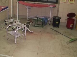 युवक की मौत के बाद परिजनों ने किया अस्पताल में हंगामा