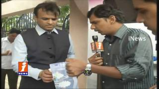 One litre of water for 1 Rupee  | Water Board Arrange Water ATMs In Hyderabad | iNews