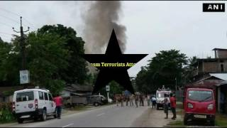 Assam India Terrorists Attack 12 People Killed, Kokrajhar,Assam Police ,Security  Forces in action