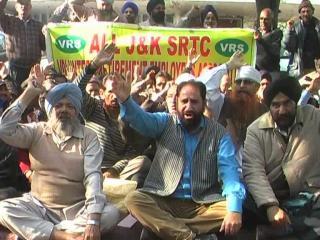 मांगे नहीं मानी गई तो जारी रहेंगे प्रदर्शन: SRTC कर्मचारी संघ