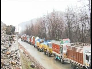 रामबन में हुआ भूस्खलन, जम्मू-श्रीनगर नेशनल हाईवे बंद