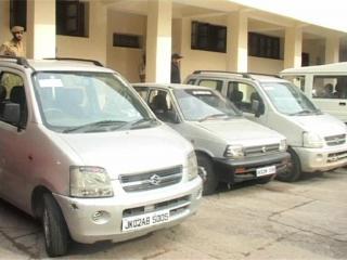 जम्मू पुलिस को मिली कामयाबी, चोरी हुए 15 वाहन बरामद