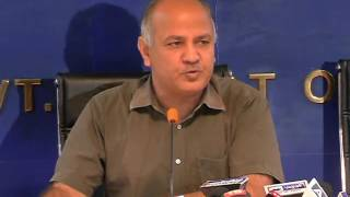 Dy CM Manish Sisodia Briefs Media on the Delhi HC  judgment on Govt of India Vs Delhi govt case