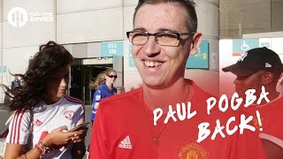 Paul Pogba Back! - Manchester United 2-1 Leicester City - FANCAM
