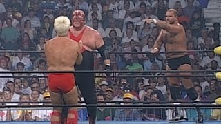 Vader vs. Arn Anderson & Ric Flair - Handicap Match: Clash of the Champions XXXI on WWE Network