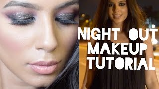 Nightout Makeup Tutorial - Collab With FaceTheGlamByKavya I BeautyConfessionz