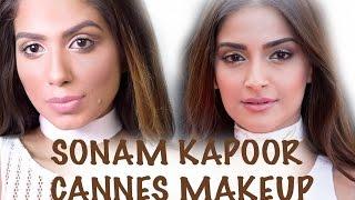 Sonam Kapoor Cannes 2016 Makeup Tutorial I BeautyConfessionz