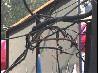 भगवंत मान की रैली में बिजली की हुई चोरी