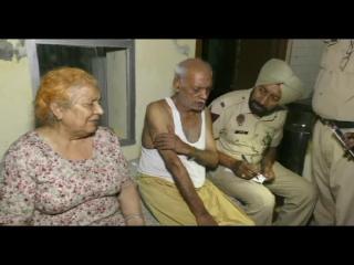 बुज़ुर्ग जोड़े को बंधक बनाकर लुटेरो ने की लाखों की लूट