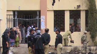 Raw: Pakistan Suicide Bomber Kills At Least 67