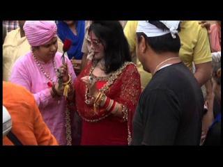 होशियारपुर में अपने भक्त के घर पहुँची राधे माँ