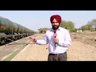 लातूर की प्यास बूझा रही है यह सरकारी ट्रेन