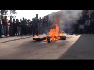 नेशनल हेराल्ड मामले पर प्रदेश भर में कांग्रेस ने जलाए पीएम मोदी के पुतले