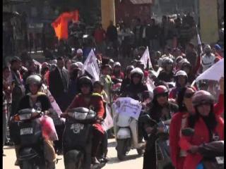 Gherlu Hinsa Ke Khilaf Mahilaon Ne Nikali Jagrukta Rally