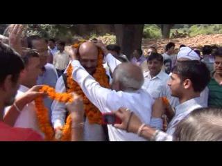 संदीप झांसू ने रविंदर रवि पर साधा निशाना