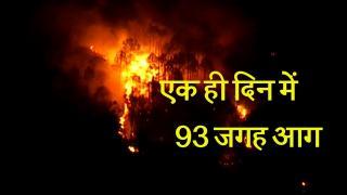 5,734 हेक्टेयर भूमि पर आग, 4 की मौत