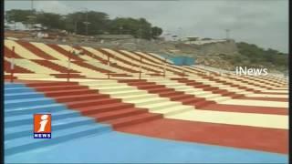 All Arrangements Speeds Up For Krishna Pushkaralu in Nalgonda   iNews