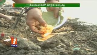Devotes Getting Ready for Krishna Pushkaralu In Telugu Stats   iNews