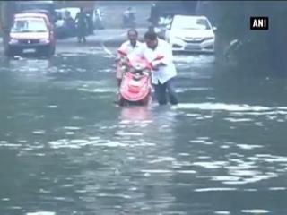 Incessant rains waterlog Chennai, disrupt normal life
