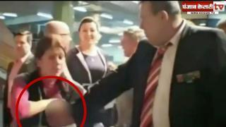...जब महिला ने ब्रेस्ट निकालकर सहकर्मियों पर छिड़का अपना दूध, देखें वीडियो