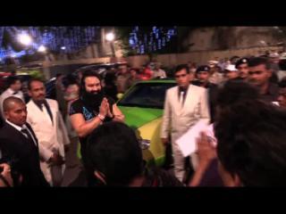 मुंबई में दादा साहेब फाल्के अवार्ड से नवाजे गए गुरमीत राम रहीम