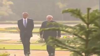 PM Modi and President Obama at the White House